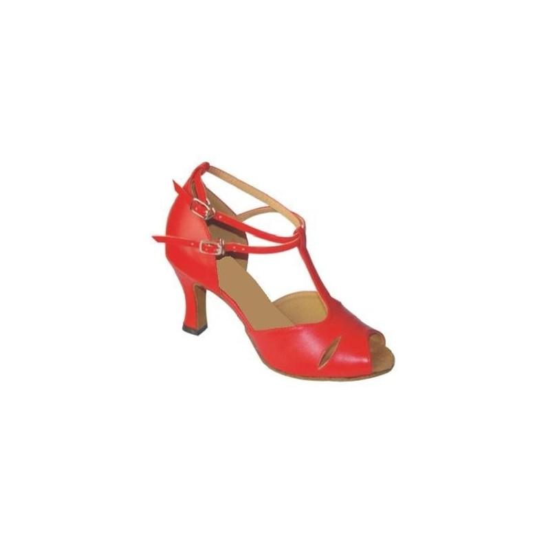 Albane : Chaussures de danse à géométrie avec strass