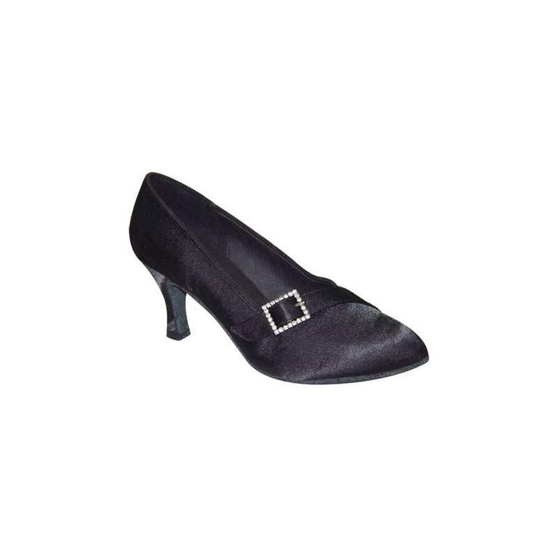 Laura : Chaussures de danse rouge vernis