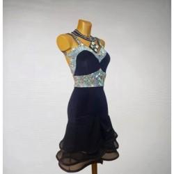 Alexia : Bottines en chaussures de danse ouverte sur le devant