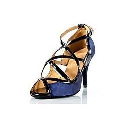 Julia : Chaussures de danse serpentade en noir